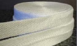Poprašené azbestové pásky